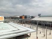 Blick zur EXPO Plaza