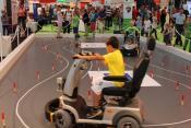 Das Scooterspiel der Götting KG auf der IdeenExpo