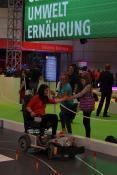 Spaß beim Scooterspiel der Götting KG auf der IdeenExpo