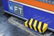 Transponder Antenne der Götting KG am FTF der Firma WFT