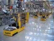 Optisch geführte FTF im Motorenwerk