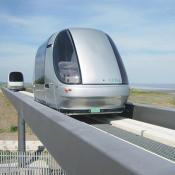 ULTra Vehicle am Flughafen Heathrow