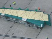 Induktiv gef. Schwerlast-FTF für Flugzeugflügel, Airbus UK