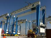 RMG mit Container Location Tracking, Konecranes, Langenhagen