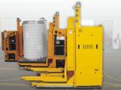 Lasergeführte FTF, E&K Automation, Rosengarten