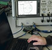 Aufnahme eines Messprotokolls für ein HF-Modul