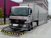 Fahrerloser LKW im ind. Einsatz