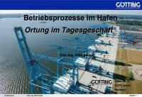 Cover Vortrag Betriebsprozesse im Hafen